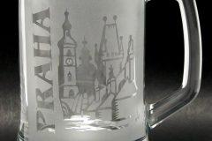 Pískování skla